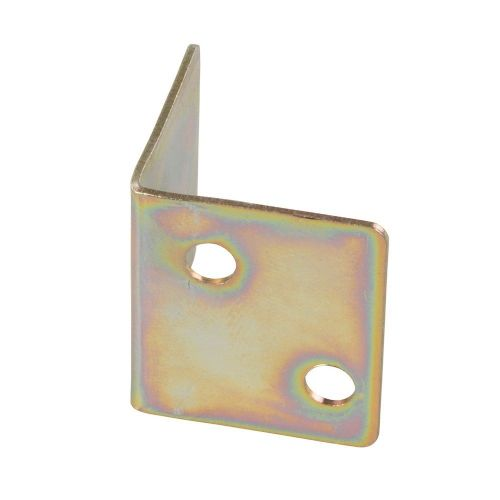 Fixman 314832 Zinc Plated Angle Plates 10 Pack 28mm x 25mm x 1.0mm